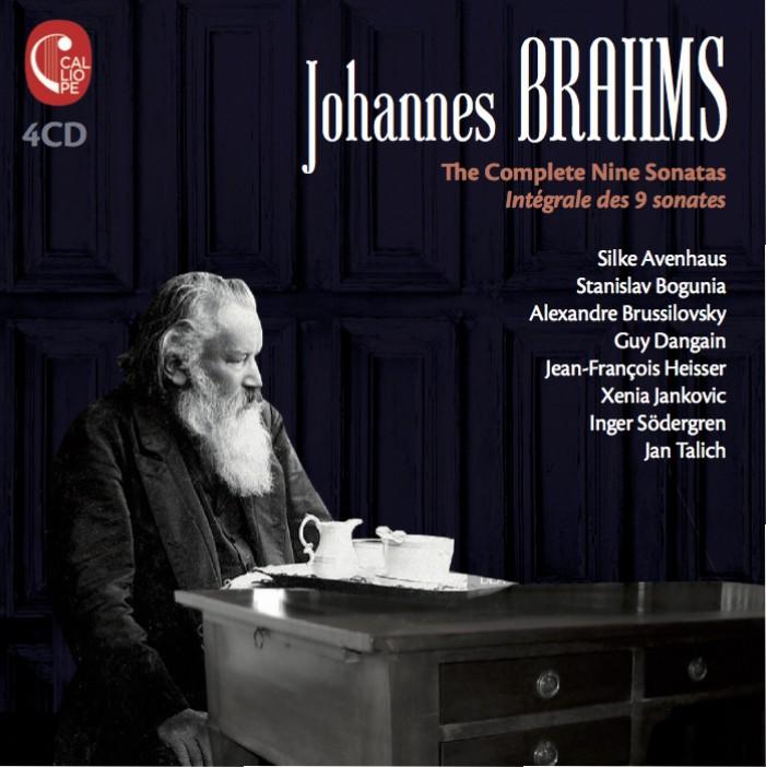 Johannes Brahms – The Complete Nine Sonatas
